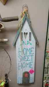 Country Chic Home Sweet Home Wall Sign Prince George British Columbia image 1