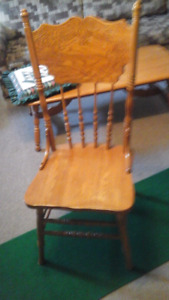 Occasional wooden High Back Chair