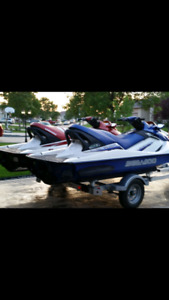 Seadoos for sale with trailer