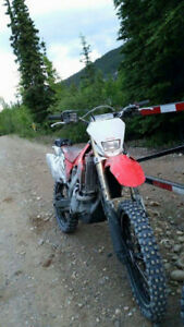 CRF250X Trade for Honda Fourtrax