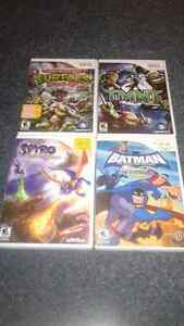 Wii games rated E 10+ $7 each