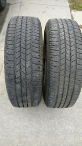 TWO ALL WEATHER WRANGLER SRA 265/70R18 LIKE NEW