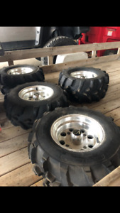 Atv rims and tires