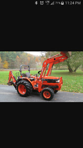 WANTED TRACTOR WITH BACKHOE