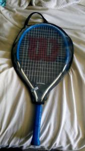 Wilson titanium tennis racquet