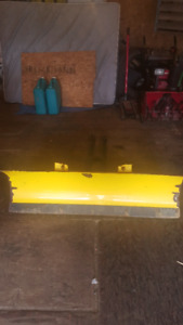 Atv snow plow