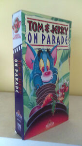 Tom & Jerry On Parade en VHS