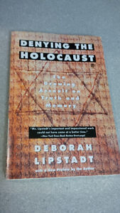 Denying the Holocaust ISBN: 978-0-452-27274-3