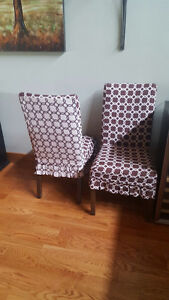 10 PIER ONE CHAIR COVERS