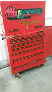 Collector MAC tools  tool box with side cabinet London Ontario image 1