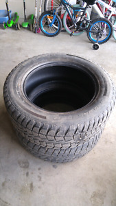 Car + truck tires- R20 and R16 tires