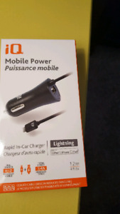 Lighting fast car charger brand new