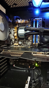 i5-4670k with Z97 mobo and 16gb RAM