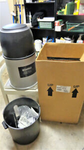 Central vacuum base unit, new