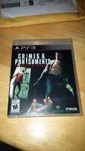 PS3 Game - Sherlock Holmes Crimes and Punishments