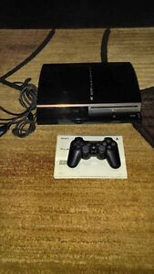 80GB PLAYSTATION 3 INCLUDES CONTROLLER + HOOK-UPS + SKYRIM