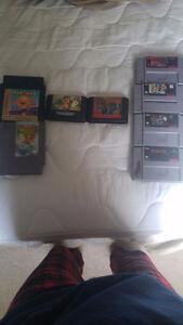 SNES, nes, Sega games