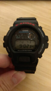Casio GShock DW-6900 Black Digital Watch