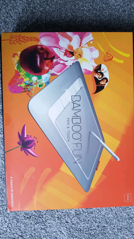Wacom Bamboo Fun Pen & Touch Tablet | in Leicester, Leicestershire | Gumtree