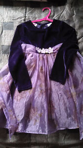 Purple dress size 7