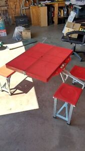 Folding Portable Picnic Table