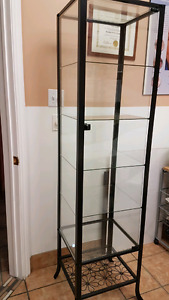 Klingsbro glass door cabinet by Ikea