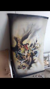 custom painted 1971-1974 plymouth duster trunk lid
