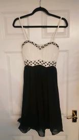 Black & White Dress Size 10