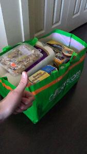 800 x Woven Polypropylene Bags. Like Large Ikea Bag Strathcona County Edmonton Area image 6
