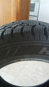 4 WINTER TIRES 2 MONTHS OLD Cambridge Kitchener Area image 2
