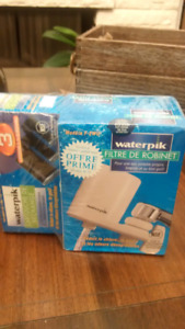 Brand New Waterpik Water Filter Tap system with 3 filters