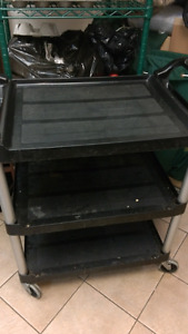Commercial Oven with proofer and trolley
