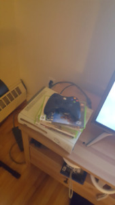 Xbox360 with games and controller HDMI $40 pick up