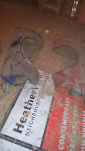 Two Original Front Fenders for 1969 1970  Mercury Cougar $175