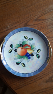 Variety of Antique/Vintage plates, and other items.