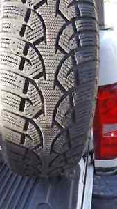 2 Continental Winter Tires 245/70R17