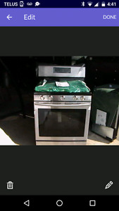 Samsung Freestanding Stainless Steel Gas Range