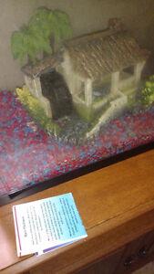 Fish tank air bubble wheel