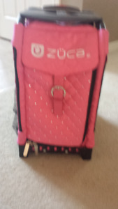 """PINK ZUCA FIGURE SKATING BAG"