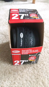 3 x Bell kevlar bicycle tire 27 x 1- 1/4 / 1 -3/8 in