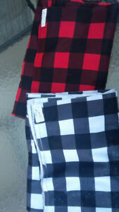 Brand New - Lumberjack Print Polar Fleece Fabric