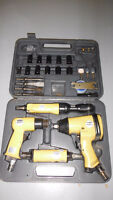 Almost new 40 pc. air tool set