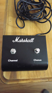 Marshall Channel/Chorus Footswitch