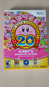 Brand new Kirby's dream collection special edition