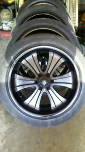 "22"" 6 bolt chevy rims."