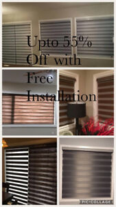 Quality window blinds Upto 55% off with free installation