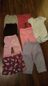 Selling as a lot only. Brands include Mexx, Carters, TCP