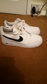 Mens air force size 10