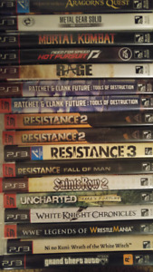 PS3 / PSP Items (see below for price list)