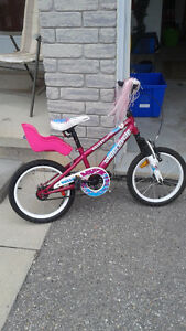 """Girl's Supercycle 16"""" wheels"""